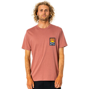 Rip Curl SWC Hazed Tee Men washed wine washed wine