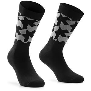 ASSOS Monogram Evo Socken schwarz schwarz