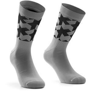 ASSOS Monogram Evo Socken grau grau