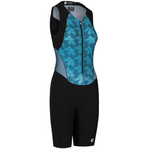 ASSOS Triator NS Speedsuit Damen schwarz/blau schwarz/blau