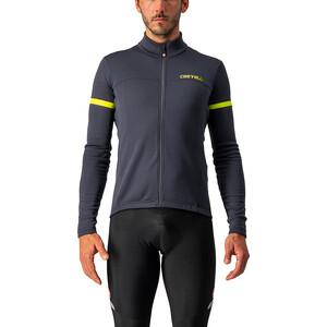 Castelli Fondo 2 Cykeltröja FZ Herr grå/gul grå/gul