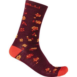 Castelli Fuga 18 Socken Herren rot/orange rot/orange