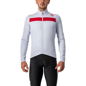 Castelli Puro 3 Cykeltröja FZ Herr silver/röd silver/röd