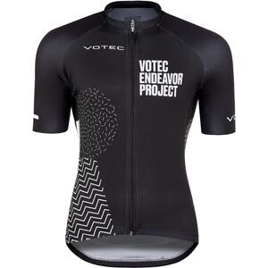 VOTEC Endeavor Project SSKurzarm Trikot Herren schwarz/weiß schwarz/weiß