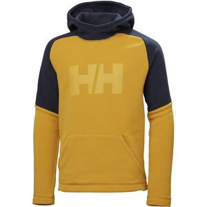 Helly Hansen Daybreaker Hoodie Jugend gelb/blau gelb/blau