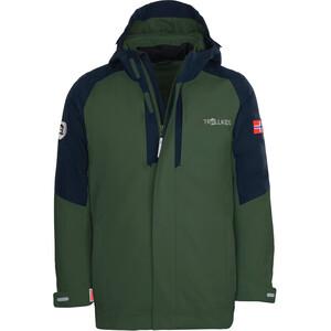 TROLLKIDS Skanden 3in1 Jacket Kids, zielony/niebieski zielony/niebieski