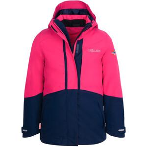 TROLLKIDS Skanden 3in1 Jacket Girls, rose/bleu rose/bleu