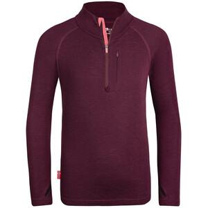 TROLLKIDS Lofoten Half Zip Pullover Kids, rouge rouge
