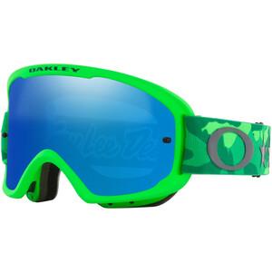 Oakley O-Frame 2.0 Pro MTB Goggles Troy Lee Designs Series, vert/bleu vert/bleu
