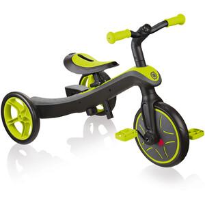 Globber Explrr Trike 2in1 Enfant, noir/vert noir/vert