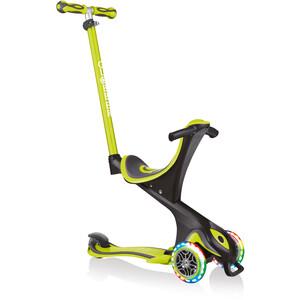Globber Go-Up Comfort Lights Scooter mit LED Räder Kinder grün/schwarz grün/schwarz