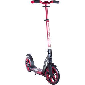 SIX DEGREES Aluminium Scooter 230/215mm Kinder rot/schwarz rot/schwarz