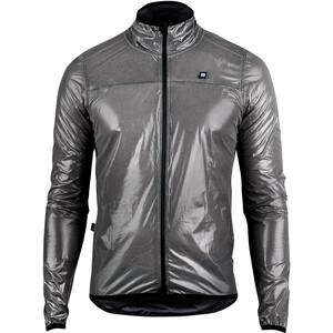 Biehler Defender Reflective Rain Jacket Men, argent/gris argent/gris