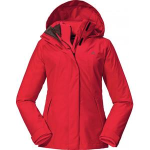 Schöffel Partinello 3in1 Jacket Women, rouge rouge