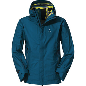 Schöffel Sass Maor 3L Jacket Men, Bleu pétrole Bleu pétrole