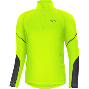 GORE WEAR M Mid Long Sleeve Zip Shirt Men neon yellow/black neon yellow/black