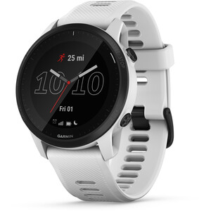 Garmin FORERUNNER 945 LTE Running Watch stone white/black