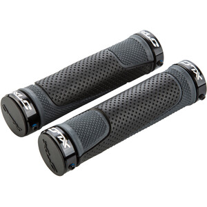 XLC GR-S05 Ringo Screw Grips black/grey black/grey