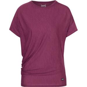 super.natural Yoga Loose T-Shirt Damen lila lila