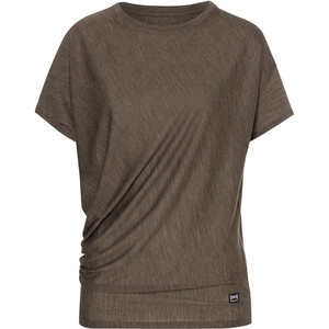super.natural Yoga Loose T-Shirt Damen braun braun