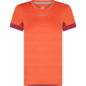 La Sportiva Sunfire T-Shirt Women paprika/red plum