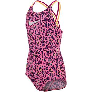Nike Swim Spiderback One Piece Badeanzug Mädchen pink pink