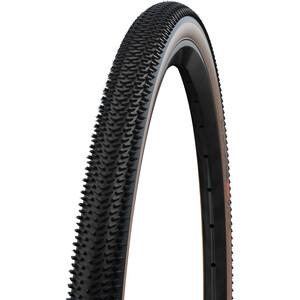 """SCHWALBE G-One R Folding Tyre 28x1.70"""" Evo Super Race V-Guard TLE Addix Race, zwart/beige zwart/beige"""