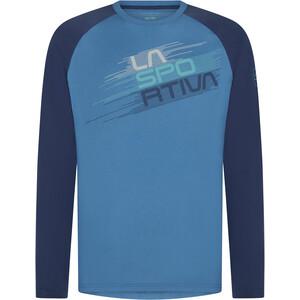 La Sportiva Stripe Evo Long Sleeve Top Men atlantic/night blue atlantic/night blue