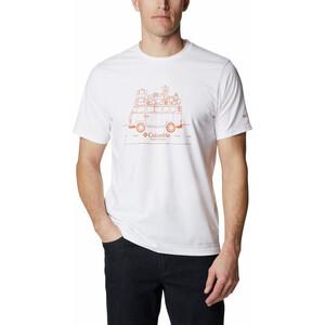 Columbia Sun Trek Short Sleeve Graphic Tee Men, blanco blanco