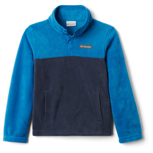 Columbia Steens Mountain Pull Polaire Snap 1/4 Adolescents, bleu bleu