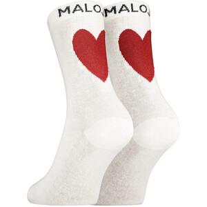 Maloja PerlmuttstrauchM. Socks, blanco blanco