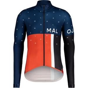 Maloja PushbikersM. 1/1 Long Sleeve Bike Jersey Men, niebieski niebieski