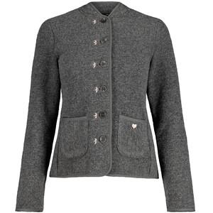 Maloja TshogdeM. Woolsweat Jacket Women, gris gris