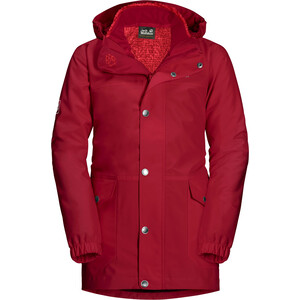 Jack Wolfskin Icy Falls 3in1 Jacke Mädchen rot rot
