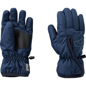 Jack Wolfskin Easy Entry Gloves Kids, blauw blauw