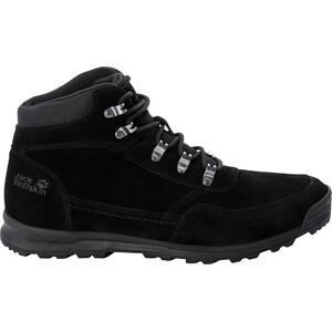 Jack Wolfskin Hikestar Mid-Cut Schuhe Herren schwarz schwarz