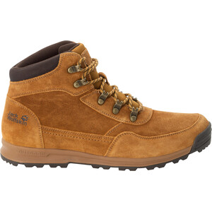 Jack Wolfskin Hikestar Mid-Cut Schuhe Herren beige beige