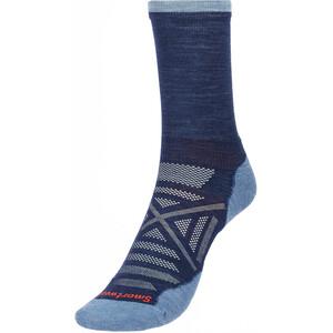 Smartwool Run Cold Weather Mid Crew Socks blå blå