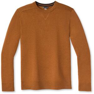 Smartwool Sparwood Crew Sweater Men, ruskea ruskea