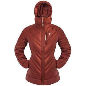 Grüezi-Bag The Faithful DownWool Jacket Women, rouge rouge