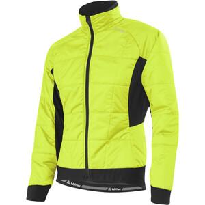 Löffler Hotbond Pl60 Fahrrad Iso-Jacke Damen gelb gelb