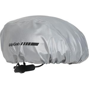GripGrab Reflektierender Helmüberzug grau grau