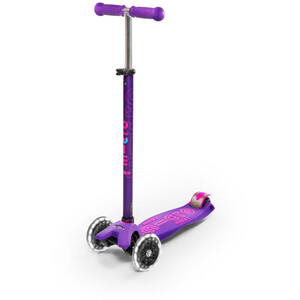 Micro Maxi Micro Deluxe LED Kickboard Kids violett violett