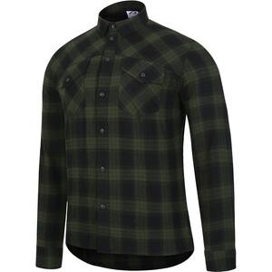 Protective P-Rockabilly Langarm Shirt Herren oliv oliv