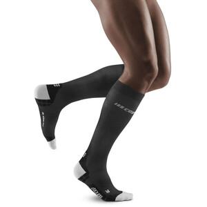 cep Run Ultralight Socks Men, noir/gris noir/gris