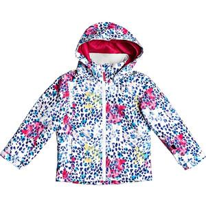 Roxy Mini Jetty Snow Jacket Girls bright white leopold bright white leopold