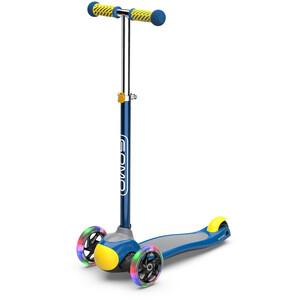 GOMO 3-Wheel Scooter Kinder blau blau
