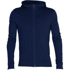 Icebreaker Quantum III LS Zip Hood Jacket Men royal navy royal navy