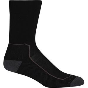 Icebreaker Hike+ Medium Crew-Cut Socken Damen schwarz schwarz