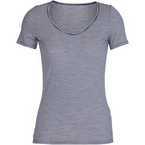 Icebreaker Siren T-shirt Femme, bleu/blanc bleu/blanc
